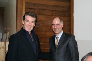 Pierce Brosnan - Foto: gentile concessione del signor Massimo Mannozzi