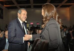 Il ministro egiziano Mounir Fakhri Abdel Nour