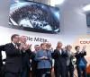 Angela Merkel insieme ai suoi compagni di partito dopo l'annuncio dei risultati elettorali - foto: Emilio Esbardo